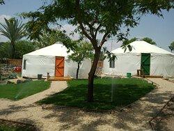 יורט אוהל מונגולי בגני חוגה