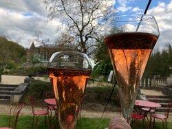 Château de Bioul en rosé ... excellent rapport qualité prix !