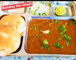 The Bombay Pav Bhaji is a very popular street food from India.
