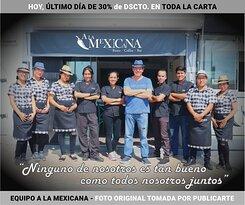 A la Mexicana: Resto Coffee Bar.   Un equipo fabuloso para atenderte y complacerte!