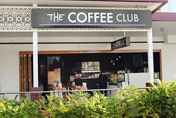 Exterior view of The Coffee Club entrance