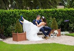 Outdoor Wedding Couple