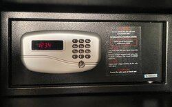 Private safe in every room