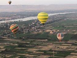 Ballon Ride in Luxor