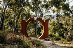 Art Walking Trail entrance