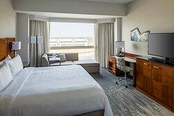 One-Bedroom Suite Bedroom - City View