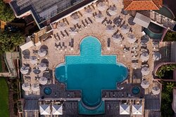 Outdoor Pool - Aerial View