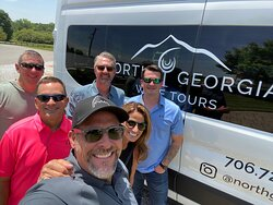 Wine Tour + the best driver in the world. Pick-up and drop off in Cumming, GA.