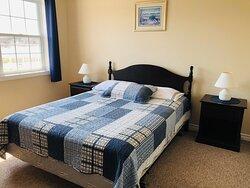 Separate bedroom in Housekeeping suites