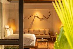 JA Manafaru I Two Bedroom Beach Residence with Family & Private Pool (Master Bedroom)