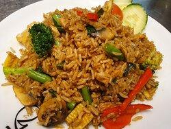 Kao Pad Kee Mao (Spicy drunken fried rice)