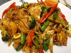 Pad Kee Mao (Drunken Noodle)