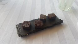 Chocolate truffles at the end since we hadn't eaten enough!