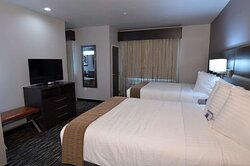 Double Queen Suite with Balcony and Kitchenette