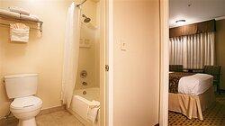 Two Queen Semi Private Bathroom