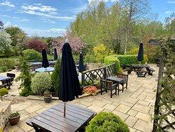The Tite Inn's beer garden