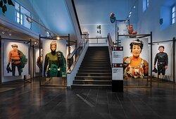 Utställningen Havets kvinnor på Östasiatiska museet