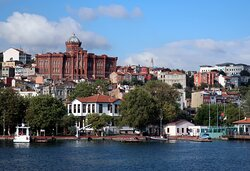 View of Balat from the ferry