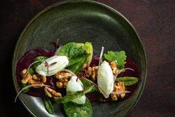 Garden fresh beetroot carpaccio