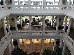 Atrium View of Hotel