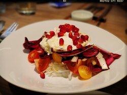 Tomato, Onion and Treviso Stracciatella Appetizer (HK$ 258)