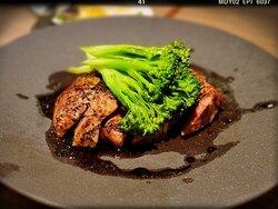 Og Pork Collar, Truffle Sauce (HK$398)