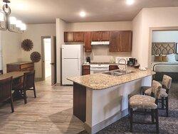 Living Room - WorldMark Hunt - Stablewood Springs Resort