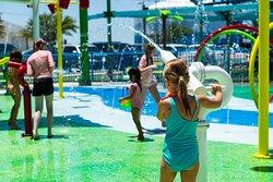 Land Activities: Splash Pad
