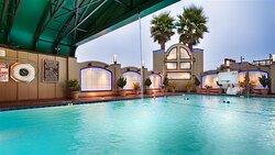Indoor/Outdoor Pool Area