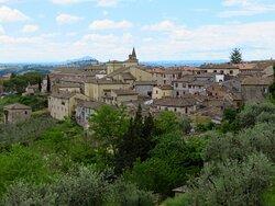 Panorama da via Cavour