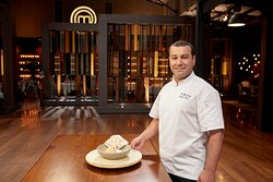 Our chef on Masterchef