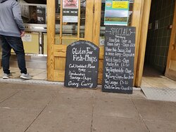 Pebble fish and chip shop