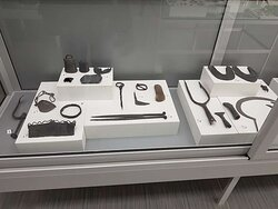 Artefacts in the museum