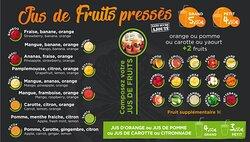 Jus de fruits pressés