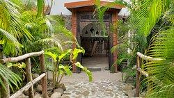 Entrance to Lemongrass villa