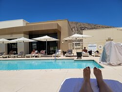 Private rooftop pool (wear lots of sunscreen!)