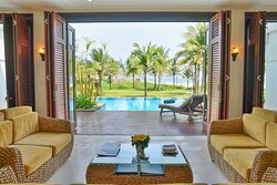 Four Bedroom Beachfront Villa with Private Pool