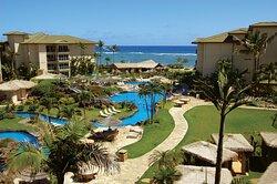 Waipouli Beach Resort Kauai Exterior Ocean View