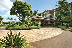 Waipouli Beach Resort and Spa Porte Cochere