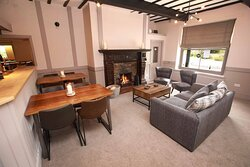 eat inside or outside in our newly refurbished bar, restaurant or outside gazebo and garden