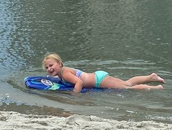Fun in the lagoon