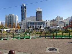広島東洋カープの本拠地球場としても知られる初代市民球場。