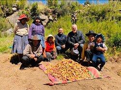 Potato Harvest with Host Family