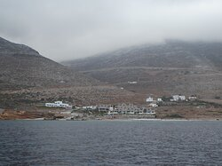 Agios Pavlos as seen from the sea