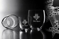 RCR Crystal glasses designed for Villa di Geggiano