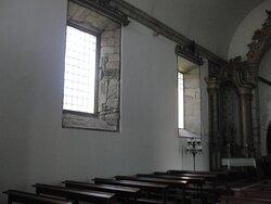 Interior, lado esquerdo.