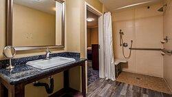 ADA Bathroom Roll in Shower