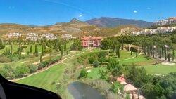 Villa Padierna desde el Helicóptero.