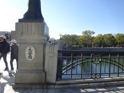 原爆ドームのすぐそばにある橋。