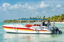 Мотомаран на остров Саона. Доминикана ПРО